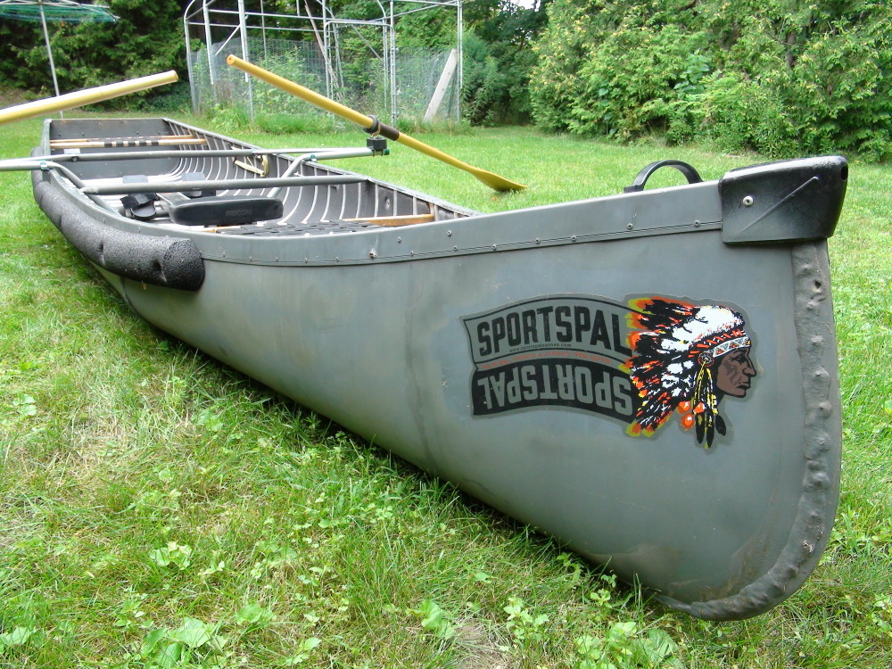 Sportspal Canoe Diy Modifications For Rowing Wolfruck Com