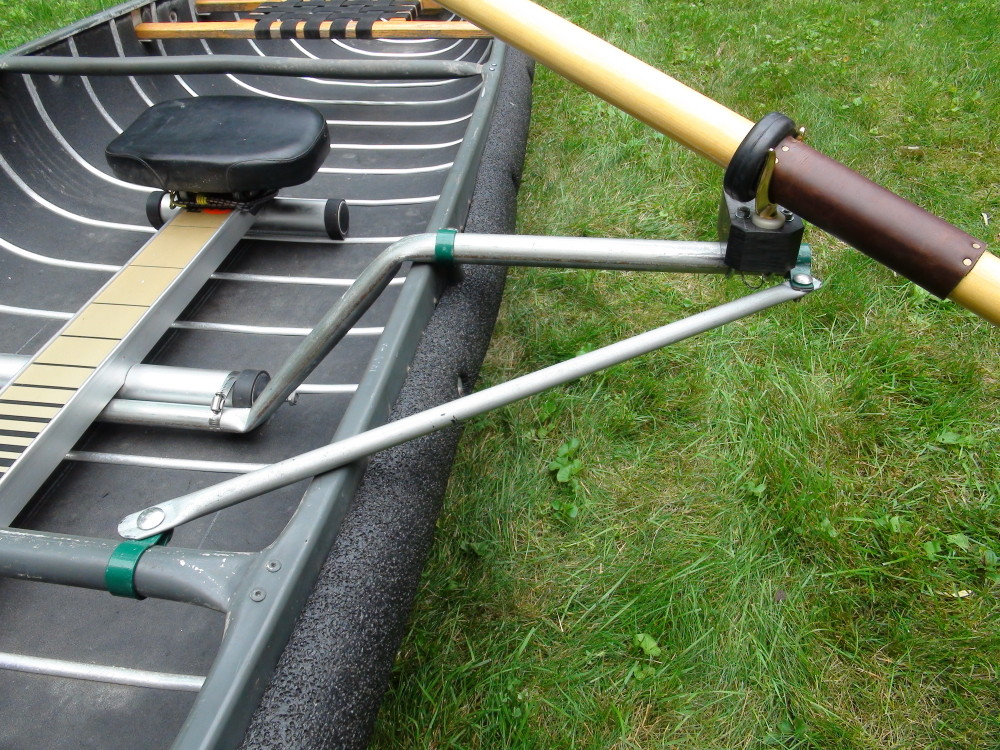 Sportspal Canoe DIY Modifications For Rowing | wolfruck com