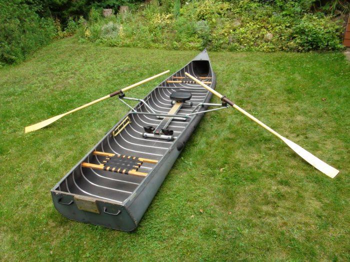 Radison Wooden Canoe Paddle with Oarlock